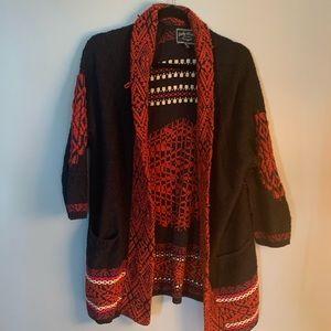 Lucky brand sweater women's medium m cardigan Shaw
